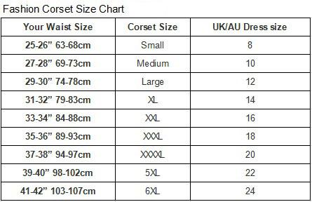 Size chart www uhnice com