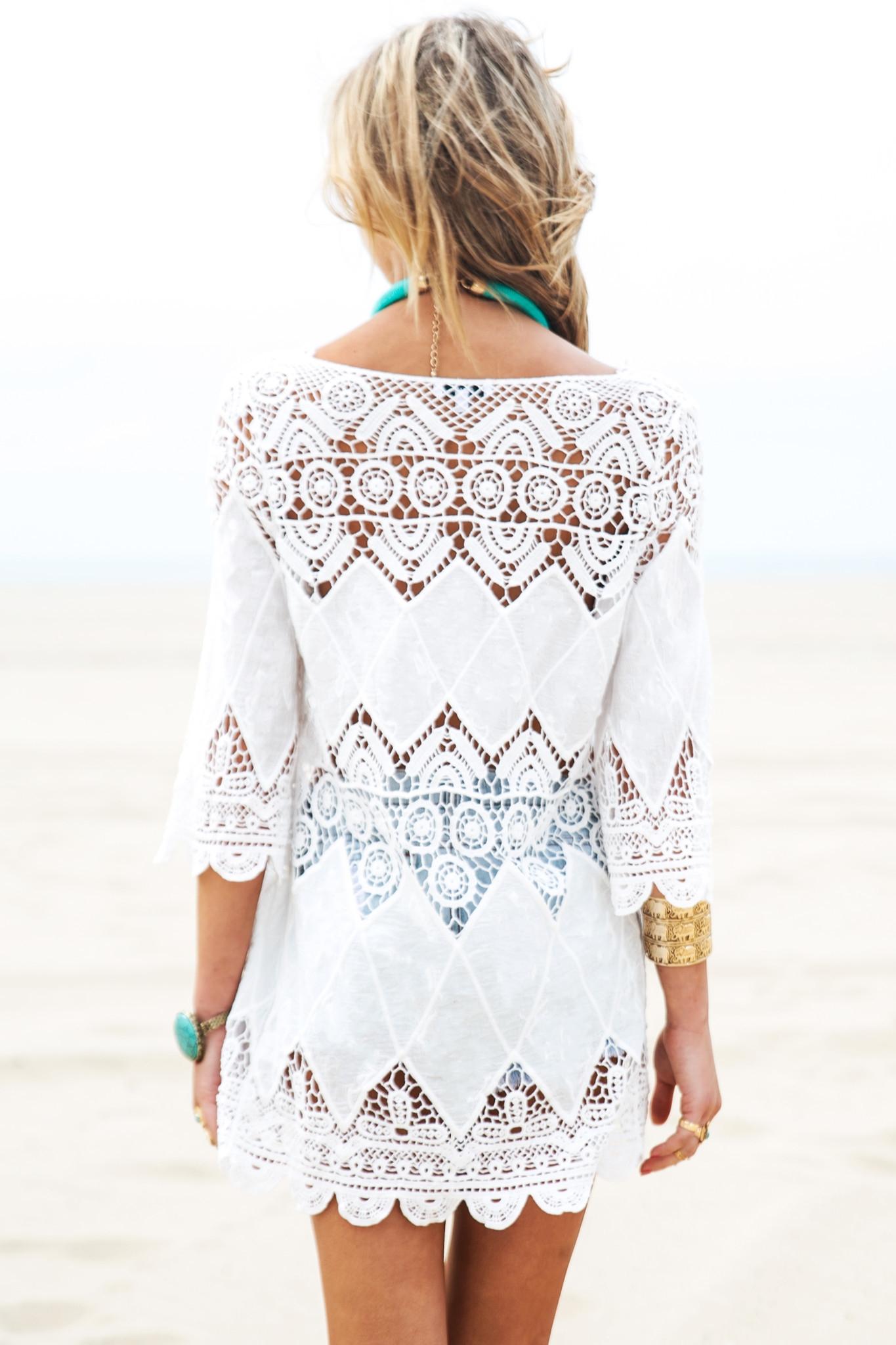 Белые Туники Для Пляжа С Доставкой