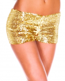 Golden Sequin short