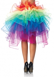 Rainbow  Petticoat Skirt