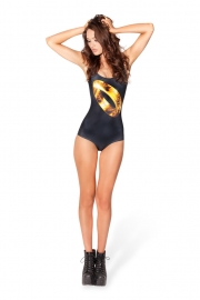 Gleaming Gold Ring Swimwear
