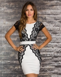 Women newest hot sale club wear white