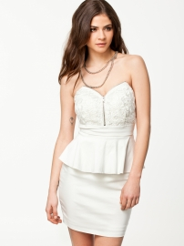White hot sale women fashion clubwear