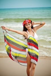 Wholesale lady summer beach dress