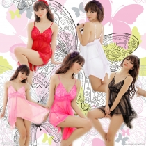 Colourful Charming Transparent Sleepwear