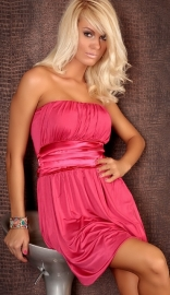 Plus Size Perfect Rose Tube Dress