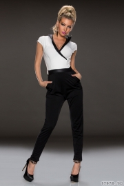 Wholesale Leather Collar Adult jumpsuit pajama