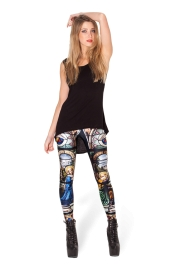 Printed sexy tight legging wear