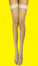 Fashion White Lace Stocking