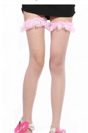 Mesh stockings for women