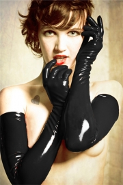 Fashion long gloves