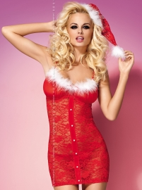 Xmas Chemise with hat