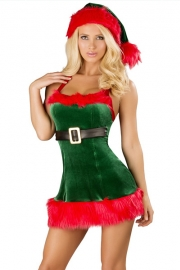 Wholesale Deluxe Christmas Costume Dress