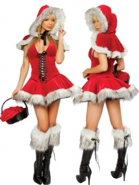 3 Piece Lil Red Riding Hood Costume