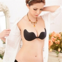 New arrival sticky bras black