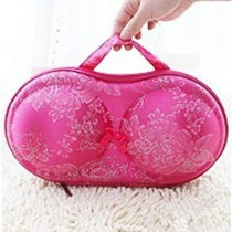 Convenient Bra Storage Bag Rosy Flower