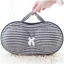 Convenient Bra Storage Bag Stripe