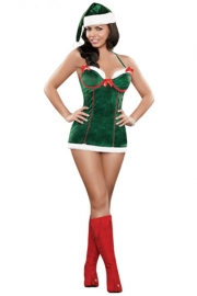 Wholesale new sexy one piece sexy Christmas Costume