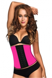 New Royal Rubber Corset Rose