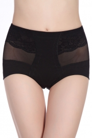 Sexy High Waisted Slimming And Firming Girdle Black