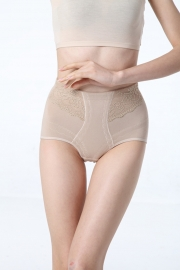 Sexy Postpartum High Waisted Slimming And Firming Girdle Nude