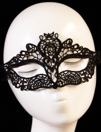 Halloween Mysterious Lace Carnival Party Mask Black