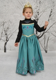 Elsa Frozen Dress Child Frozen Movie Long Sleeve