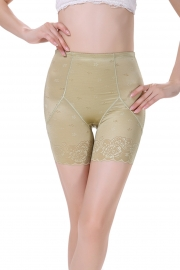 Postpartum Middle Waist Lace Bodyshaper Green