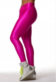Sporty Candy Solid Color High Waist Jogger Pants Rosy