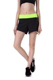 New Arrival Fashion Women Sport shorts Green