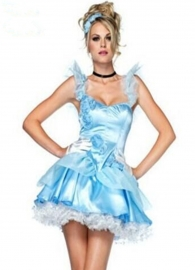 Elegant Girls Princess Costumes Blue