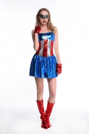 New Arrival Costume Captain America