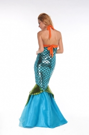 Sexy Mermaid Costume Blue