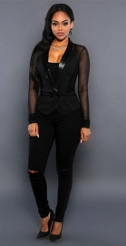 Newest Hot Sell Black Women Suit