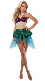 Halloweens Party Sequin Fair Costume