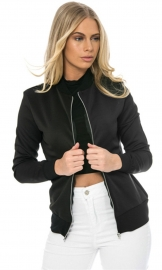 Womens Long Sleeve Blazer Suit Casual Jacket Coat Outwear Black