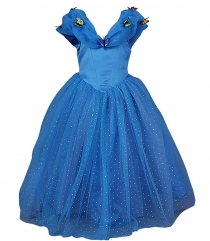 New Cinderella Princess Cosplay Dress Christmas Party Costumes