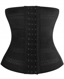 Weight Loss Hourglass Waist Trainer Body Cincher Sport Workout Shapers Black