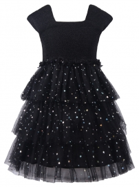 Girl Princess Dress with Sequines