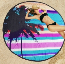 Door Mat Summer Sunlight Beach Palm Tree with Blue Clear Sky Art Print Indoormat Outdoor Mat