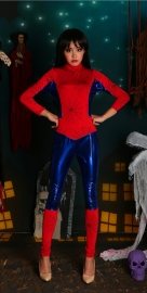 New Arrival Sexy Spider Man Jumpsuit Cosplay for Halloween Costume