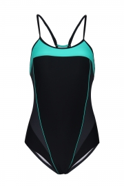 Women's Adjustable Strap Cross Back Race Endurance+ One Piece Swimsuits