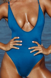 Hammock  V-neck One Piece Swimsuits