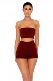 Sexy two-piece nightclub set