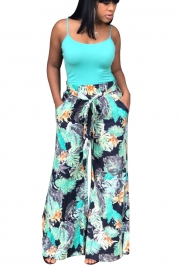 Print Casual Loose Pants
