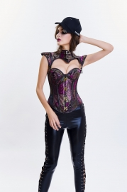 Retro Classic Punk Style Leather  Two Sorts Corset