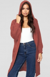 Sorrel Long Cardigan Sweater With Pocket