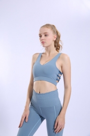 Sports Bra Gathered Running Fitness Beauty Back Underwear Vest Style Yoga Large Size Women Bra