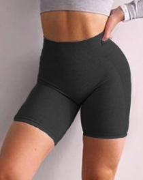 Women Knit Seamless Yoga Shorts Sports Fitness Pants Shorts