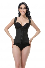 Latex Steel Boned Waist Training Shapewear Corsets